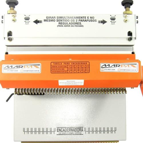 encadernadora perfuradora wire-o conjugada 3x1 até 110folhas
