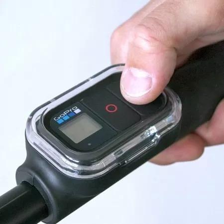 encaixe original gopro controle remoto em haste sp gadgets