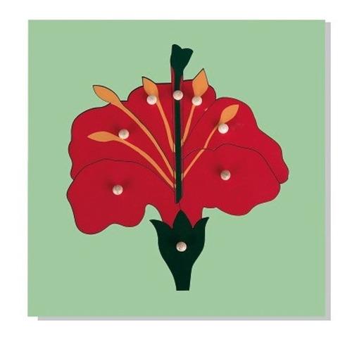 encaje c/mango flor madera (019) dactic