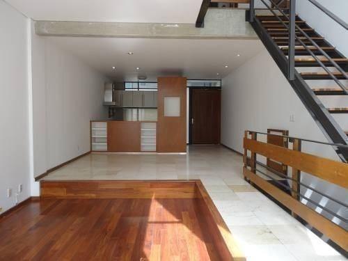 encantador depto de dos pisos con terraza    av. veracruz -