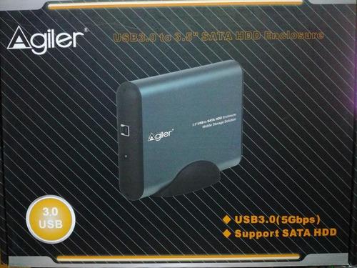 encapsulador para disco duro de 3.5 sata usb 3.0 *itech