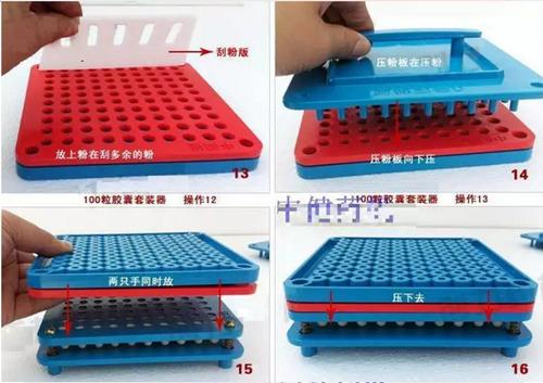 encapsuladora manual 100 capsulas 6 piezas envio gratis w01