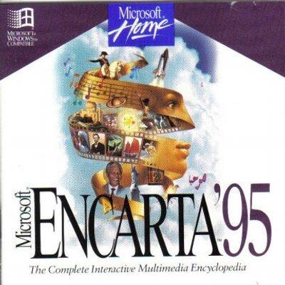 Encarta 95 Encyclopedia - Microsoft - Windows - Original