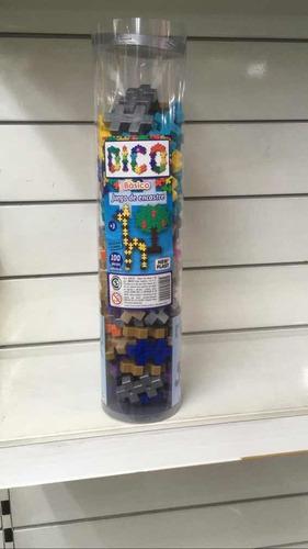 encastre bloques dico en tubo línea new plast july toys