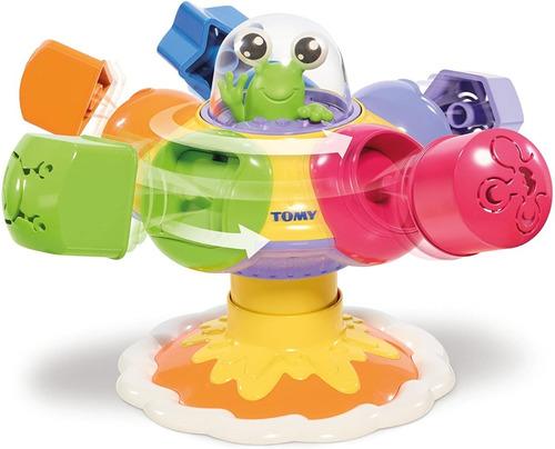 encastre formas colores gira ovni divertido tomy 92101 educa
