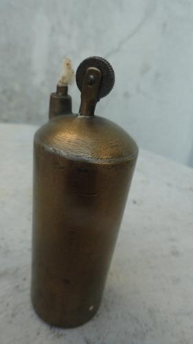 encendedor a bencina de mesa antiguo raro