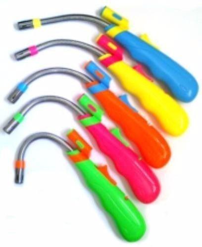 encendedor a gas flexible con luz
