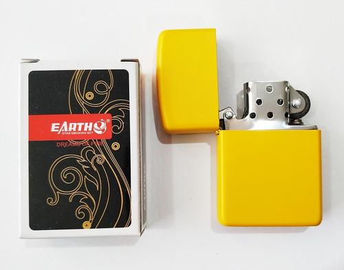 encendedor antiviento metálico colores mas liquido recarga