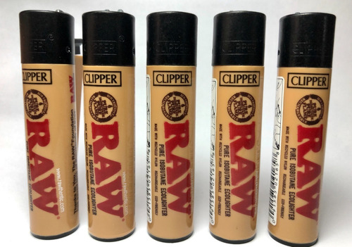 encendedor clipper raw classic 5 pack recargable