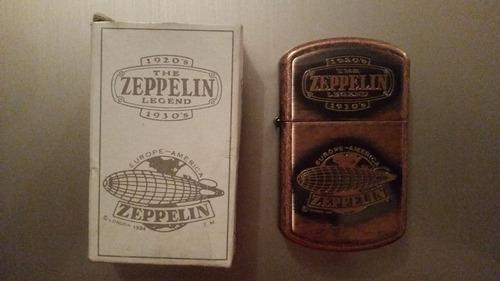 encendedor colibri original the zeppelin legend tipo zippo