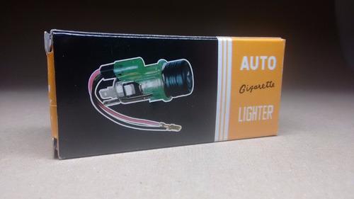 encendedor de cigarrillos,luz, 12v, auto,toma cargador.