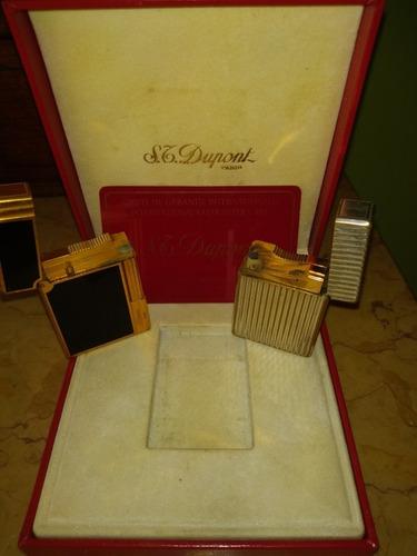 encendedor dupont oro,plata,laca china,original