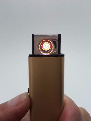 encendedor eléctrico, carga por usb / mt
