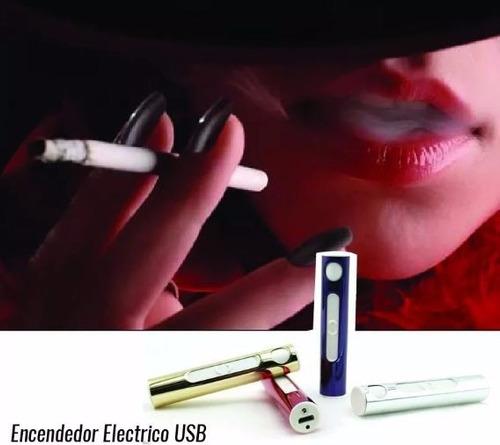 encendedor eléctrico de cigarrillo, recargable usb ecológico