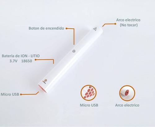 encendedor electrico de cocina recargable