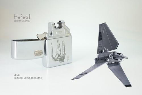 encendedor eléctrico electronico hefest star wars navelambda