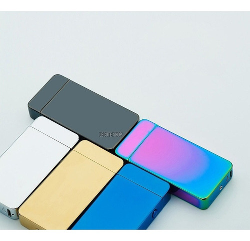 encendedor electronico recargable plasma metal