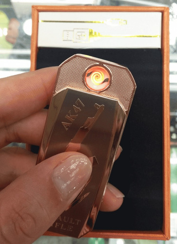 encendedor fosforera de tabaco. ak47
