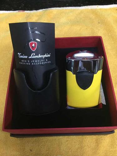 encendedor marca tonino lamborghini color amarillo nuevo
