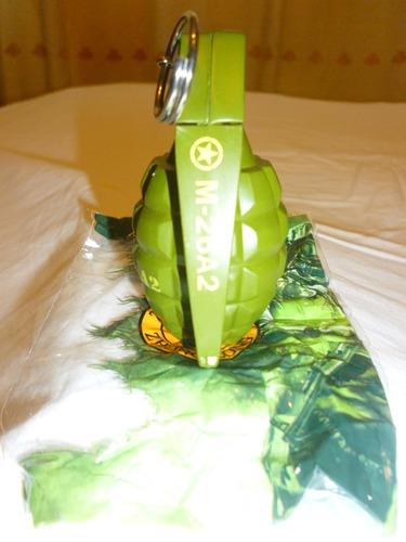 encendedor militar modelo granada tipo piña