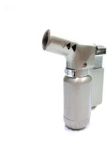 encendedor mini soplete a gas recargable 7.5*5cm