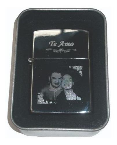 encendedor personalizado con foto y dedicatoria, no es zippo