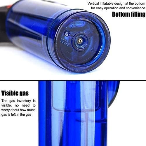 encendedor puro briquet gas butano recargable soplete mini