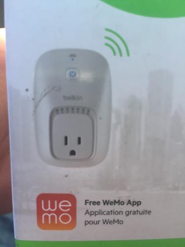 encendedor remoto wemo switch belkin