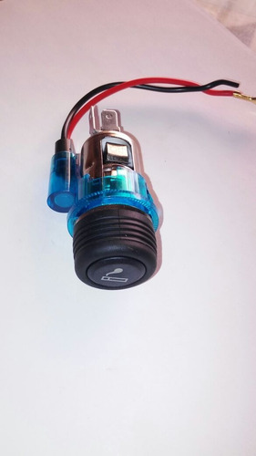 encendedor universal, iluminacion azul chevy tsuru corsa