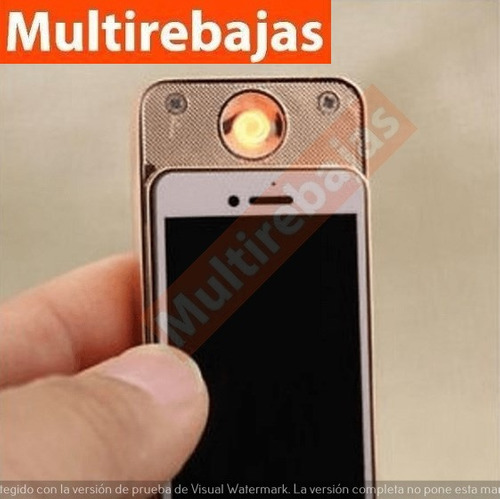 encendedor usb telefono celular iphone android coleccion