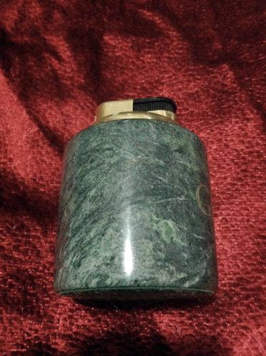 encendedor verde de coleccion