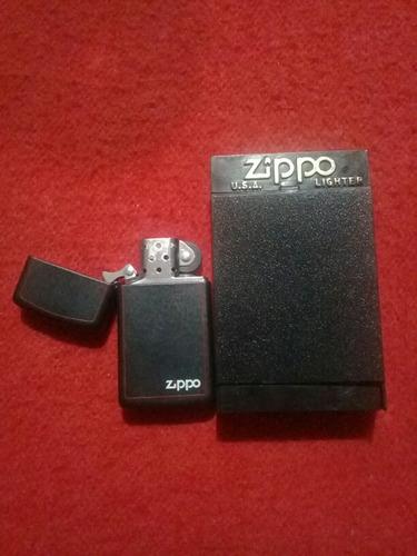encendedor y bencina zippo original nuevo