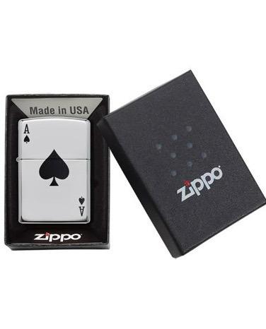 encendedor zippo as de pica original
