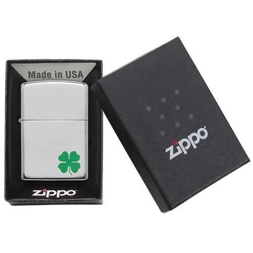 encendedor zippo bit o' luck trébol ref. 24007