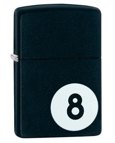 encendedor zippo bola 8 original