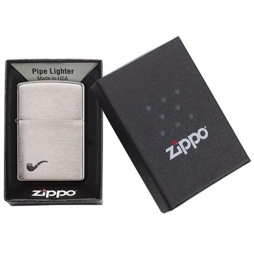 encendedor zippo brushed chrome pipa ref. 200pl