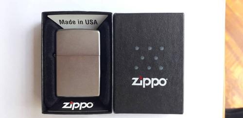 encendedor zippo como nuevo blue butane lighter en mate
