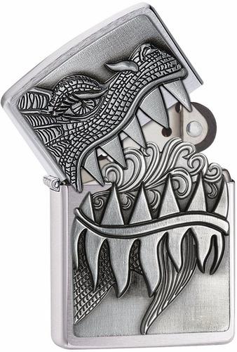 encendedor zippo dragon #28969 estuche de lujo original usa