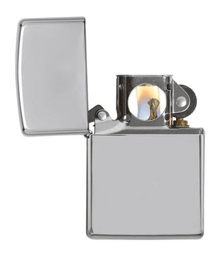 encendedor zippo high polish chrome ref. 250