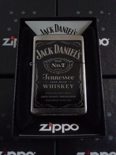 encendedor zippo jack daniels 100% original importado+ combo