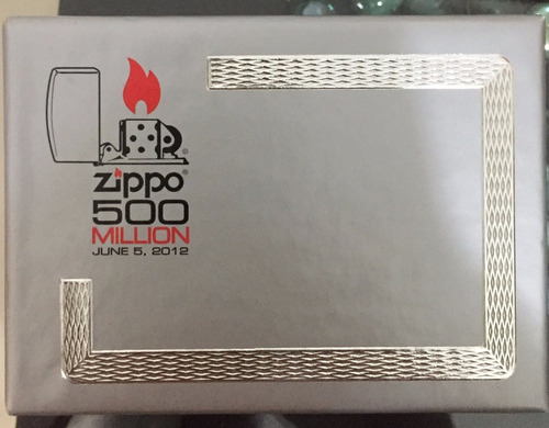 encendedor zippo limited edition 500 million 28412
