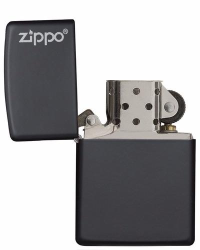 encendedor zippo negro 100% original importado usa + combo