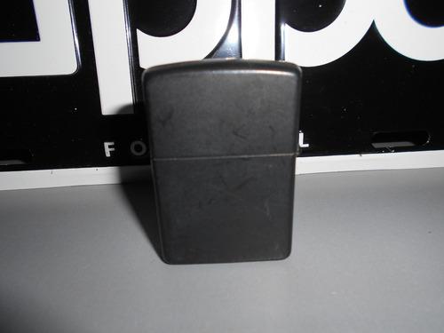 encendedor zippo negro mate envio gratis