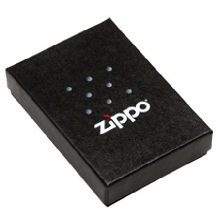 encendedor zippo negro y rojo 218zb - jugueteria aplausos
