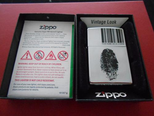encendedor zippo original, nuevo