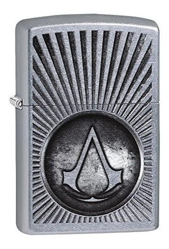 encendedor zippo original usa assassin's creed 29602