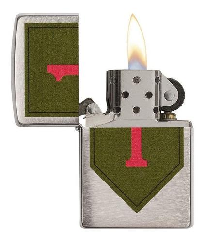 encendedor zippo original usa us army 1 st infantry 29182