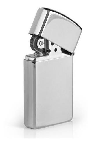 encendedor zippo slim high polish chorme ref. 1610