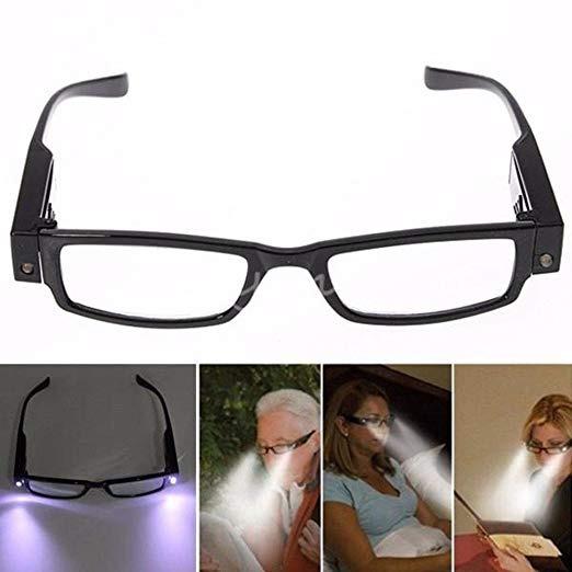 a480f6a370 Encendido Led Gafas De Lectura Presbicia Con Luz De La Lámpa ...