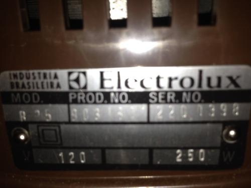 enceradeira electrolux de 1982 sem uso raridade